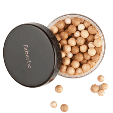 6035 Пудра в шариках Illuminating beads powder